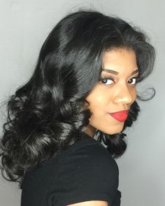 29 Best Natural Hair (Silk Press) images | Hair, Natural ...