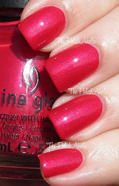 The PolishAholic: China Glaze Spring 2013 Avant Garden Collection Swatches - Snap My Dragon