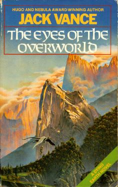 Cugel the Clever (AKA The Eyes of the Overworld) by Jack Vance Fantasy Book Covers, Book Cover Art, Fantasy Books, Book Art, Ace Books, Cool Books, Pulp, Classic Sci Fi Books, Book Covers