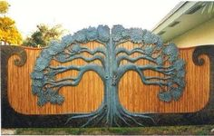 Tree of Life Gate  - I really need this to keep the solicitors out!