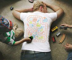 Back Massage Playmat Shirt $22.00