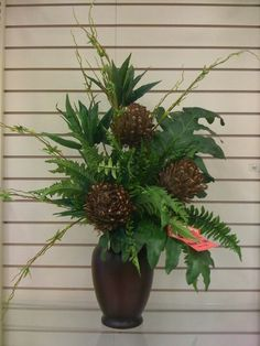 Florals greenery on pinterest floral arrangements for Picture arrangements for large walls