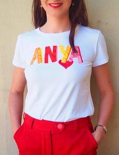 """The """"ANYA"""" T-shirt - V I K T O R I A V A R G A Budapest, Mom, Celebrities, T Shirt, Fashion, Celebs, Tee, Moda, La Mode"""