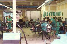 Leyton House Racing Garage (San Marino 1989)