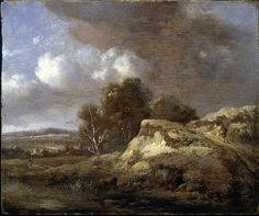 8 июля. Wijnants, Jan (1625 - 1692) Landscape with Cow drinking (Jan Jansz Wijnants (alternatively Wynants) (1632 – buried 23 January 1684) was a Dutch Golden Age painter. Wijnants is primarily known for his Italianate landscapes and paintings featuring topography.)