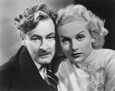 Carole Lombard and John Barrymore