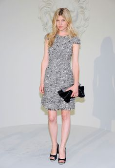 Clemence Poesy Photos: Chanel Fall/Winter 2010-11