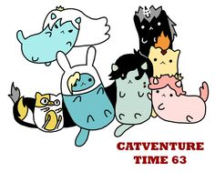 Catventure Time v63 by Hoozuki.deviantart.com on @deviantART