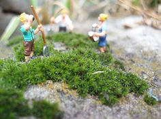 Little people scene: Farming