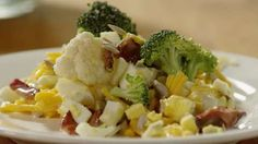 Broccoli-Cauliflower Salad Allrecipes.com