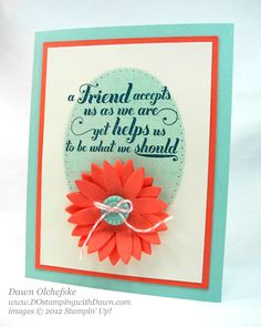 stampin up, dostamping, dawn olchefske, demonstrator, feels good, pop up posies designer kit