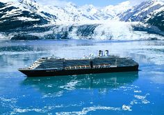 How Beautiful does this Holland America Cruise ship look in the cool Alaskan waters? (619)282-7631