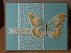 Coffee Table Crafter: Watercolor Wings