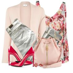 """""""Floral Print Top"""" by brendariley-1 on Polyvore"""