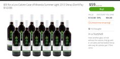 12 bottles of Miranda Summer Light Shiraz $59 « DigBargain, Australia Coupon Site
