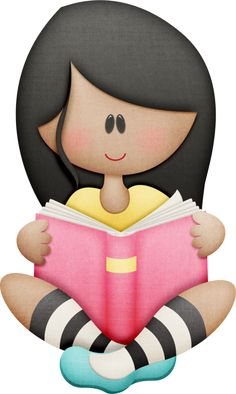 The Book Club Nias Leyendo Png Clipart - Cliparts. Cute Images, Cute Pictures, Clip Art, School Clipart, Cute Clipart, Clipart Images, Happy Kids, Filofax, School Projects