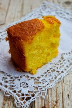Fluffosa all'arancia, chiffon cake all'arancia