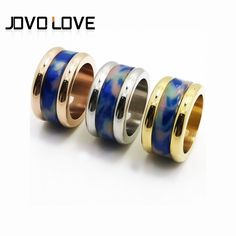 Find More Rings Information about 2017 Vintage Blue Resin Stainless Steel Ring 14mm Wide Gold Plated Men Rings Punk Simple Lover's Finger Ring Size 8 11 Wholesale,High Quality gold plated ring,China ring 18k Suppliers, Cheap 18k gold plated rings from MSX Fashion Jewelry on Aliexpress.com