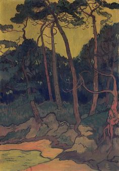 Pines on the Shore (Georges Lacombe)