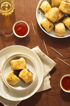 Sausage rolls = tea party food.  So bad, but sooo good.