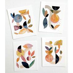 Abstract Shapes, Abstract Art, Large Art Prints, Art Prints For Home, Modern Art Prints, Framed Prints, Art Aquarelle, Insect Art, Shape Art