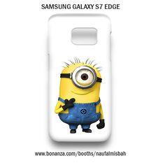 Funny One Despicable Me Minion Samsung Galaxy S7 EDGE Case Cover