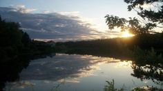 """Serene Sunset"", by Ashlyn Wilson taken at Kennebunkport, ME"