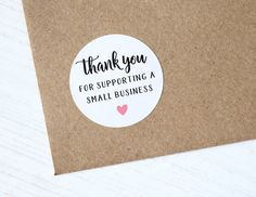 24 Thank You For Supporting Small Business Stickers Shop Seller Packaging Package Labels Packaging Stickers, Fruit Packaging, Pretty Packaging, Packaging Ideas, Thank You Labels, Thank You Stickers, Sticker Shop, Sticker Design, Handmade Birthday Cards