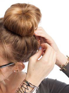 How To: Sock Bun Hairstyle   JANE SAYS