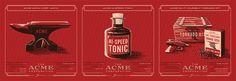 ACME Inventory Series   3 Prints   Anvil, Tonic, Tornado Kit   Fringe Focus