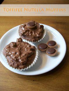 Toffifee-Nutella-Muffins