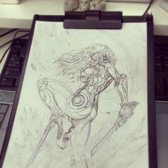 ArtStation - stato_drawing_00~07, Stato Ozo
