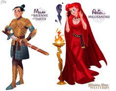 E se as Garotas da Disney estivessem em Game of Thrones? | Literatortura