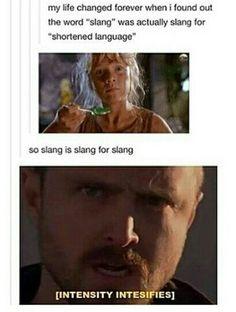 Shouldn't it be shlang then?