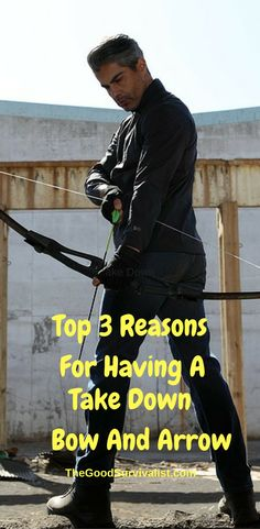 Owning a bow and arrow is something every prepper, and survivalist should consider owning for many different reasons. Survival Bow, Survival Weapons, Survival Tools, Wilderness Survival, Outdoor Survival, Survival Prepping, Emergency Preparedness, Zombie Survival Gear, Survival Hacks