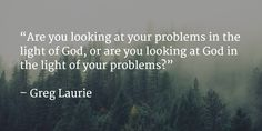 Have you asked yourself this question lately? (From Greg Laurie)