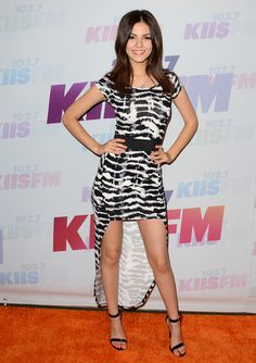 Victoria Justice attending 102.7 KIIS FM's Wango Tango 2013 at The Home Depot Center in Carson, California - May 11, 2013 - Photo: Runway Manhattan/AFF