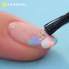 Diy nails 716283515718440688 - awesome nail art Source by cuteekittey Pretty Nail Art, Cute Nail Art, Nail Art Diy, Beautiful Nail Art, Cute Nails, How To Nail Art, Nail Art Designs Videos, Nail Art Videos, Awesome Nail Designs