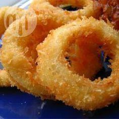 Cebola empanada crocante @ allrecipes.com.br