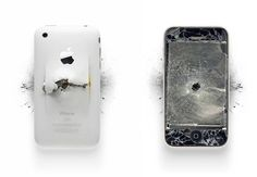 Even Destroyed Apple Products Look Beautiful ❤