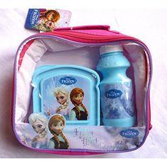 Set 3pcs Disney Frozen (Cantimplora+Sandwichera+Portamerienda)