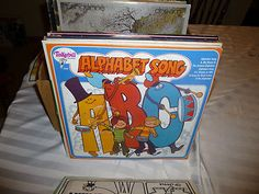 Alphabet Song vinyl LP Tinkerbell Records