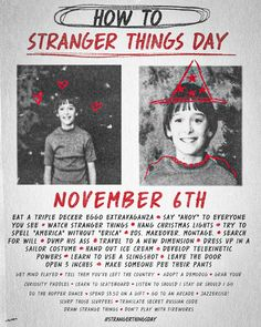 Stranger things day!