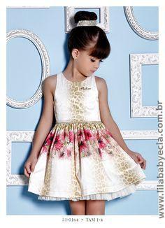 Vestido Infantil Mis