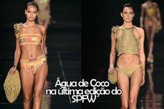 Água de Coco no SPFW