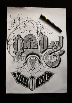 Cool lettering