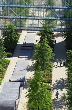 OTTO factory premises | Hamburg Sidewalk, Hamburg, Landscape Diagram, Shade Perennials, Outdoor, Places, Side Walkway, Walkway, Walkways
