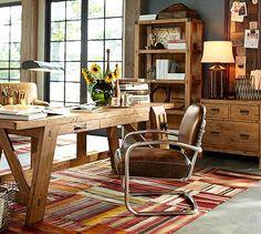Hendrix Large Smart Technology™ Desk #potterybarn