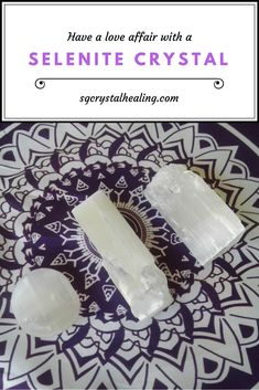 Selenite is amazing and if you're like me, you may like to use it for everything.  I share my experiences in meditation, what I use my selenite crystal for as well as some of its properties #crystals #selenite #meditation #healing #angels
