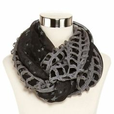 Infinity scarves--prefer neutral colors